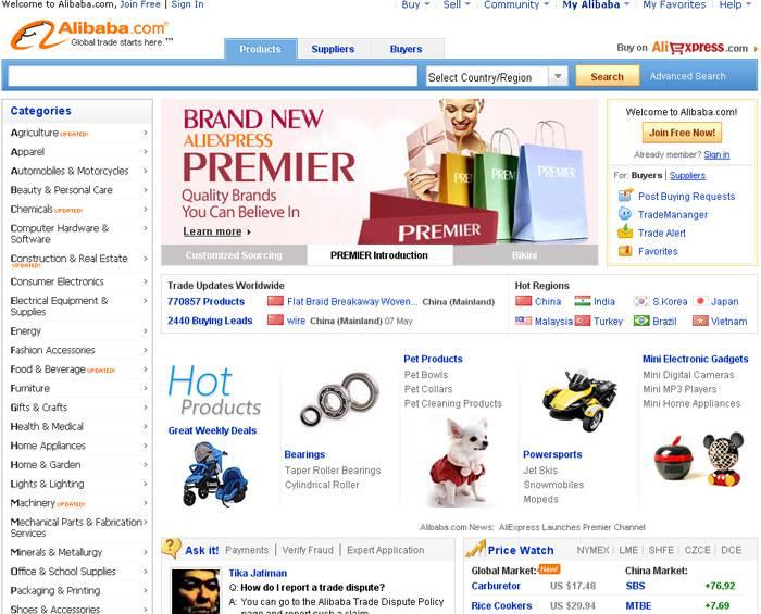 Alibaba Com Интернет Магазин